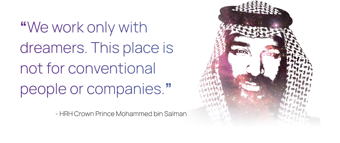HRH Crown Prince Mohammed bin Salman Quote